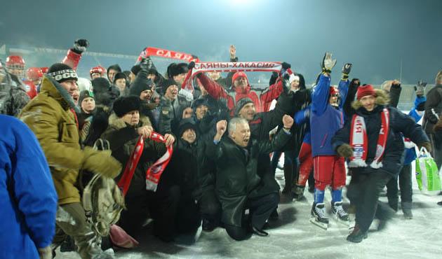 Стадион Саяны